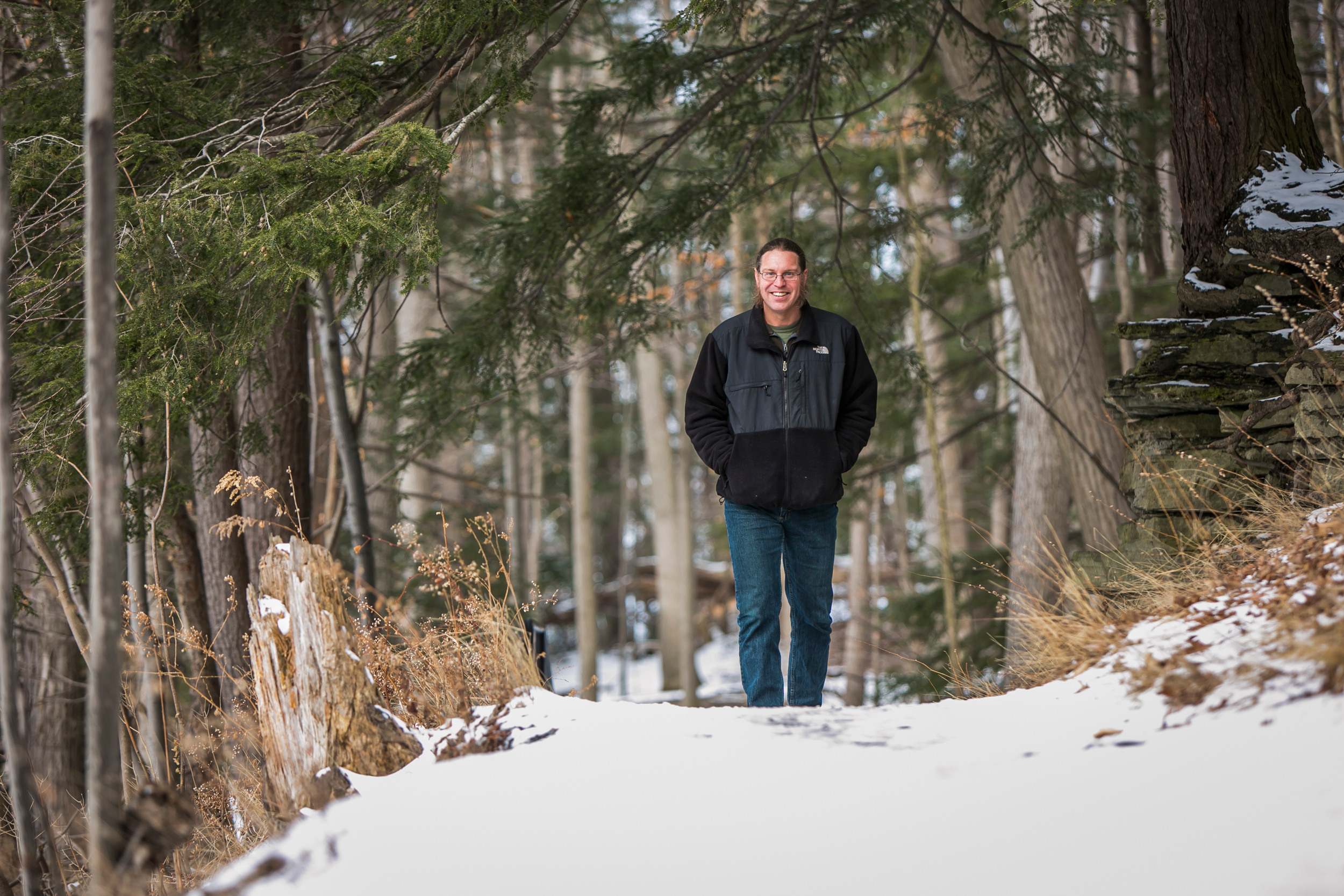 """""""Rather than addressing water pollution issues by treating the water, I'm trying to manage the landscape to avoid polluting the water in the first place,"""" Walter says."""