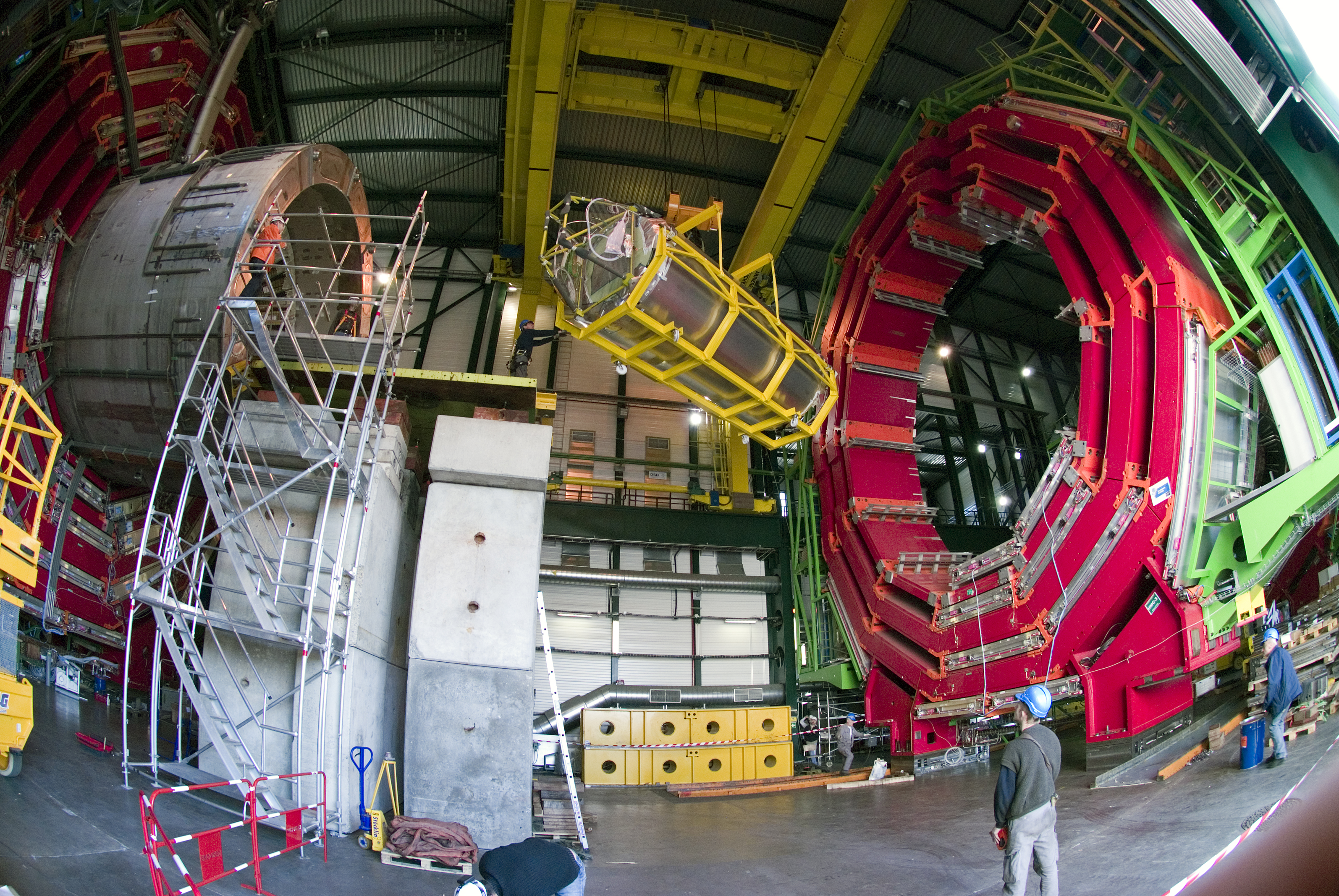 The Compact Muon Solenoid (CMS) detector at CERN