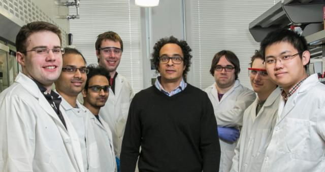 Members of Robinson's lab