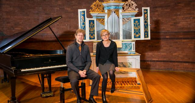 Organist Annette Richards and Pianist Xak Bjerken strive to understand the purpose and impact of music and to connect with listeners.