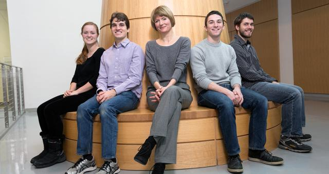 Members of the Thom-Levy research group